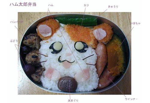 Tu as faim ? Et bien, manges !